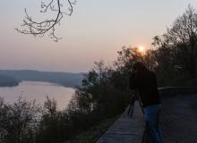 Thorsten Lasrich - Sonnenuntergang am Balderneysee