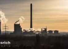 Thorsten Lasrich - STEAG Kraftwerk Herne im Sonnenaufgang
