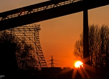 Markus Poch - Zollverein Sonnenuntergang