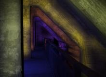 Thorsten Lasrich - LaPaDu farbige Betonpfeiler Möllerbunker