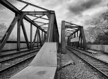 Thorsten Lasrich - Eisenbahnbrücke Sinteranlage Duisburg