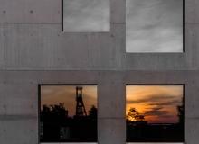 Sonnenuntergang - Folkwang Sanaa - IMG_3231