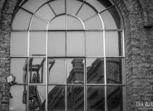 Dirk Walther - Förderturm im Fenster