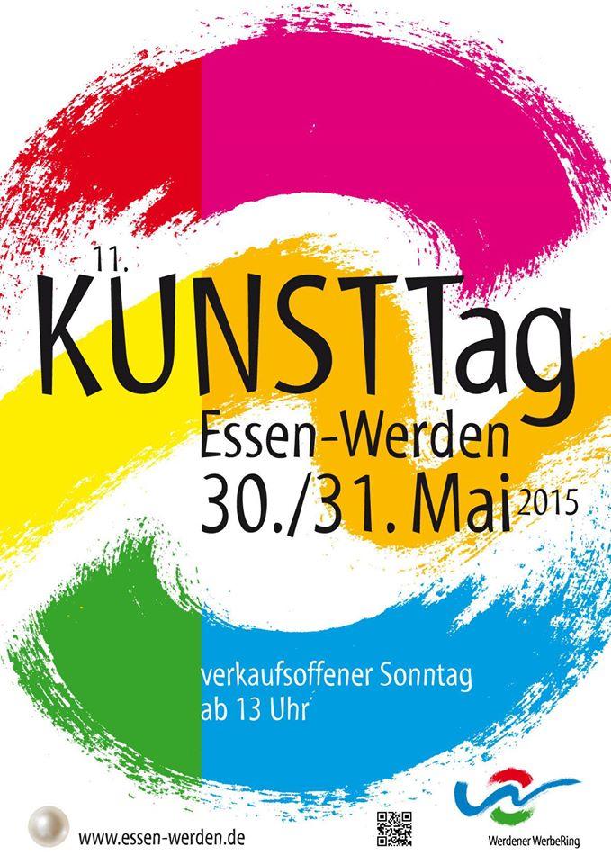 Logo Werdener Kunsttag