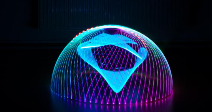 Lightpaiting Domes